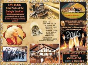 Genoa Lake Resort New Years Eve Brochure